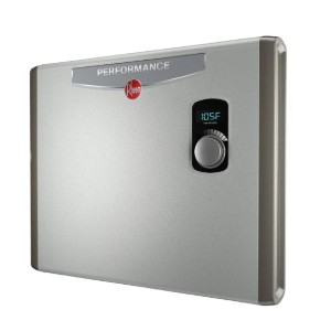 Rheem Performance 36 kw Self-Modulating 7.03 GPM Tankless Electric Water Heater - Best Electric Tankless Water Heater for Whole Family: Space-Saving Water Heater