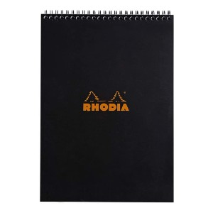 Rhodia Wirebound Notepad - Best Notebooks for College: Detachable Micro-Perforated Sheets