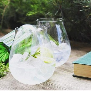 Riedel Gin Set - Best Glass for Gin and Tonic: Stemless Design Makes These Glasses Less Susceptible