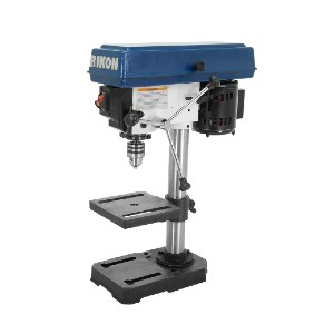 Rikon 30-100 - Best Drill Press for Woodworking: Solid Steel and Cast Iron Construction