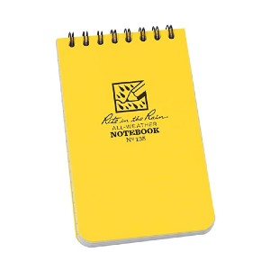 Rite In The Rain All-Weather Top-Spiral Notebook - Best Notebook for Meeting Notes: No more wet notes