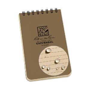 Rite In The Rain Weatherproof Top-Spiral Notebook - Best Notebook for Students: Your notes are fully protected