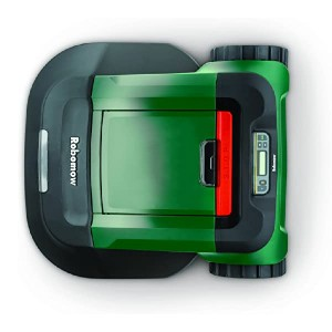 Robomow RS630  - Best Robotic Lawn Mower for Slopes:  Large cutting deck