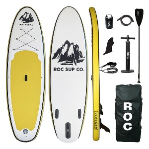 Roc Inflatable Stand Up Paddle Board  - Best Paddleboard for Surfing: The strongest in its class