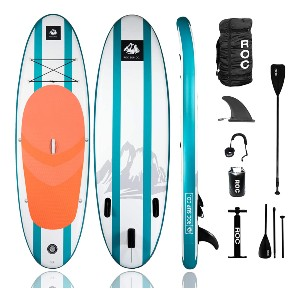Roc Inflatable Stand Up Paddle Board  - Best Paddleboard for Yoga: One of the strongest