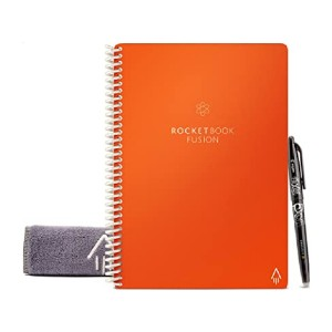 Rocketbook Fusion Smart Reusable Notebook - Best Notebook for Students: No more new notebook!