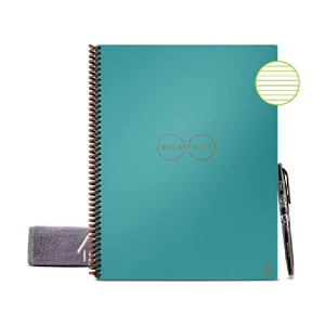 Rocketbook Smart Reusable Notebook - Best Notebook for Meeting Notes: Sophisticated AI tech