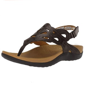 Rockport Women's Ridge Sling Sandal - Best Sandals for High Arches: Easy to Clean Sandal