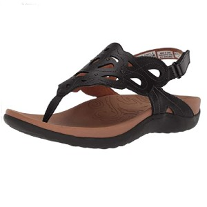 Rockport Women's Ridge Sling Sandal - Best Sandals for Wide Feet: Easy to Clean Sandal