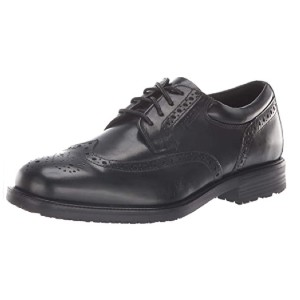 Rockport Men's Essential Details Waterproof Wingtip Oxford Shoe - Best Medical Professional Shoes: Maximum Fit Shoes