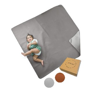 Rohmi Multipurpose Modern Leather Mat - Best Picnic Blanket Baby: Suitable for Indoor and Outdoor