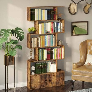 Rolanstar Bookcase with Cabinet - Best Bookshelves on Amazon: Old-Time Classic Bookcase