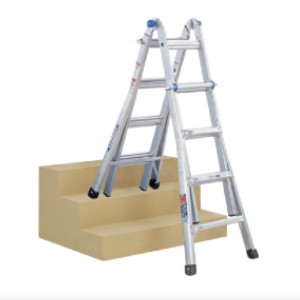 WERNER MT-17 - Best Ladders for Stairs: Not for Use Around Electricity