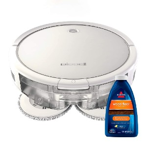 BISSELL SpinWave 3115 - Best Robot Vacuum Cleaner for Pet Hair: Triple Action Cleaning System