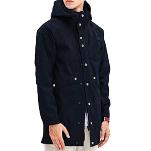 Romanstii Raincoat Mens Waterproof with Hood Long - Best Raincoats for Cold Weather: The fuzzy lining and durable fabric fiber