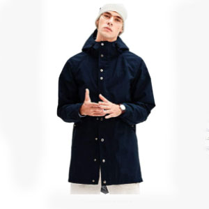Romanstii Mens Jacket Lightweight Windproof - Best Raincoats for College Students: Highly Wind Resistant