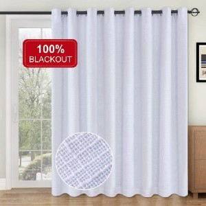 Rose Home Fashion Sliding Door Curtains - Best Curtains for Sliding Glass Doors: Double Layers Curtain