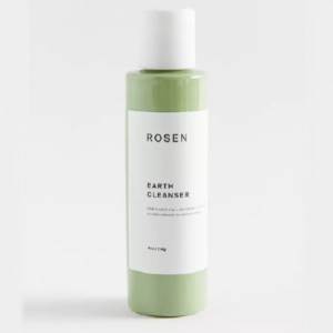 Rosen Skincare Earth Cleanser - Best Face Cleanser for Acne and Oily Skin: Face Cleanser with zinc oxide, niacinamide, and eucalyptus oil