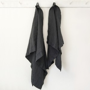 Rough Linen ORKNEY LINEN BATH TOWEL - Best Bath Towel: Towel with antimicrobial material