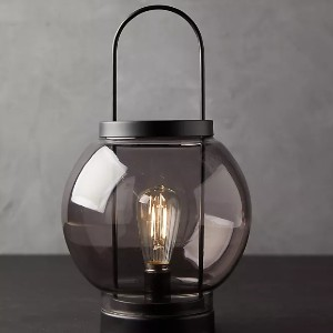 Anthropologie Round LED Lantern - Best Outdoor Lanterns: Wipe Clean with Dry Cloth