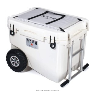 Rovr Wheeled Camping Rolling Cooler with Wheels - Best Small Portable Cooler: Large Capacity