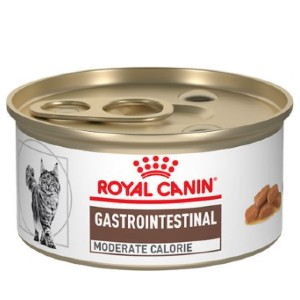Royal Canin Veterinary Diet Gastrointestinal Moderate Calorie Canned Cat Food - Best Cat Food for Indoor Cats Vet Recommended: Anti-Inflammatory Diet Food