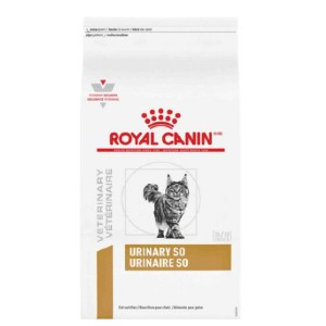 Royal Canin Veterinary Diet Urinary SO Dry Cat Food - Best Food for Cat Urinary Health: Excellent Urinary So Formula