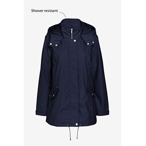 Next Rubber Jacket - Best Raincoats for Petites: High Collar and Comfortable to Wear