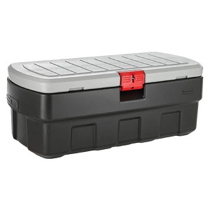 Rubbermaid ActionPacker️ 48 Gal Lockable Storage Bin - Best Storage Containers for Garage: Withstand up to 100℉ temperature