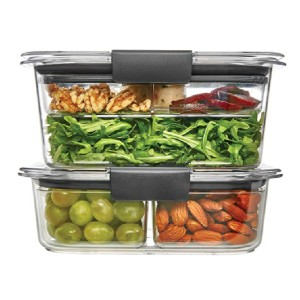 Rubbermaid Brilliance Food Storage Container - Best Leftover Food Storage Containers: Safe with no stain