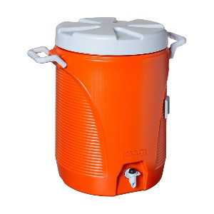 Rubbermaid Commercial 5-Gallon Water Cooler - Best Water Jugs to Keep Water Cold: Thick Insulation Construction Jug