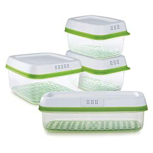 Rubbermaid FreshWorks Food Storage Containers - Best Food Storage Container: Various size to be organized