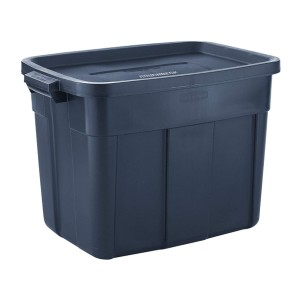 Rubbermaid Roughneck️ Storage Totes - Best Storage Containers for Moving: Easy to lug around