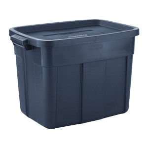 Rubbermaid Roughneck️ Storage Totes  - Best Storage Containers for Garage: Keep moisture away
