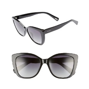 DIFF Ruby 54mm Polarized Sunglasses - Best Sunglasses for Round Face: Retro-Inspired Silhouette