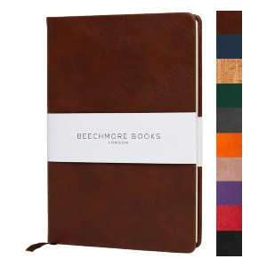 Beechmore Books Premium A5 Journal  - Best Notebooks for College: Uniquely Thicker Paper