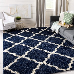 Safavieh Dallas Shag Collection SGD257N  - Best Rug for Queen Size Bed: Perfect comfort underfoot