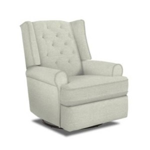 Thats My Seat Sara  - Best Recliners for Nursery: 360-Degree Swivel Feature