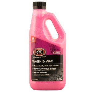 SCA Concentrate Wash & Wax - Best Car Wash Soap: Glorious shining finish
