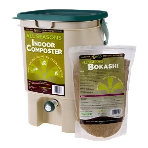 SCD Probiotics All Seasons Indoor Composter - Best Indoor Compost Bins: Fits under most kitchen sinks