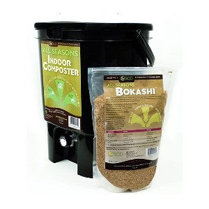 SCD Probiotics All Seasons Indoor Composter - Best Compost Bin for Beginners: Fits under most kitchen sinks