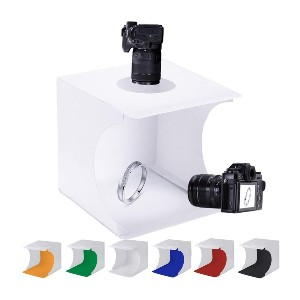 SENLIXIN Photo Studio Tent Jewelry Light Box Kit - Best Lightbox for Jewelry Photography: Best for budget