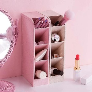 Shein Multi-grid Cosmetic Storage Box - Best Makeup Storage: Cuttie Plastic Storage