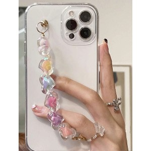 Shein Colored Beaded Hand Strap Phone Case - Best iPhone 12 Pro Cases: Secure Case with Hand Strap