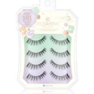SHO-BI DECORATIVE EYELASH - Best Lashes for Asian Eyes: Dreamy Eyelash