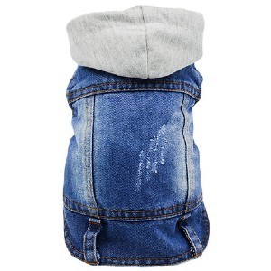 SILD Pet Clothes Dog Jeans Jacket - Best Clothes for Dogs: Be the coolest kid on the block