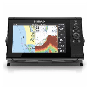 SIMRAD Cruise 9 - Best Fish Finders GPS Combo: Simple Rotary Dial and Keypad Control