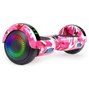 SISIGAD Hoverboard Self Balancing Scooter - Best Hoverboard for 12 Year Old: Built-in wireless speaker
