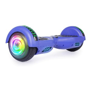 SISIGAD Hoverboard with Bluetooth and Colorful Lights - Best Hoverboard for 6 Year Old: Built-in wireless speaker