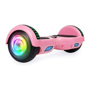 SISIGAD Hoverboard with Bluetooth and Colorful Lights - Best Hoverboard with Bluetooth: Best pocket-friendly pick